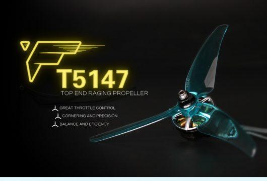 T-Motor T5147 piros propeller