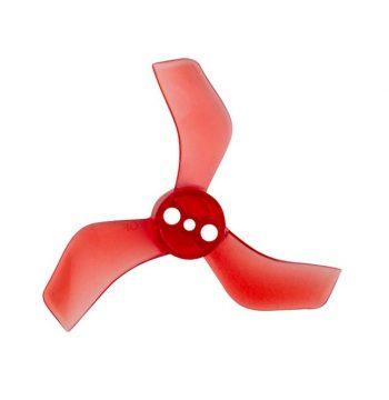 Gemfan 1635 40mm 3 lapátos Piros Propeller 1 mm-es Tengelyre