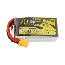 Tattu R-Line Version 3.0 1550mAh 14.8V 120C 4S1P Lipo|
