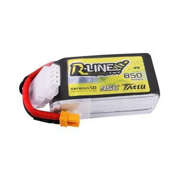 Tattu R-Line 850mAh 3S1P 95C 11.1V Lipo akkumulátor