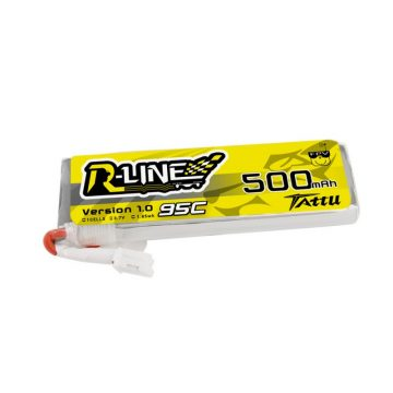 Tattu R-Line 500mAh 3.7V 1S1P 95C Lipo akkumulátor