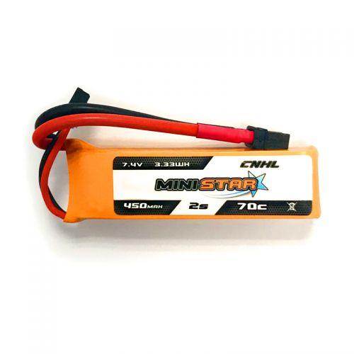 CNHL Ministar 450mAh 7.4V 2S 70C LiPo Akkumulátor