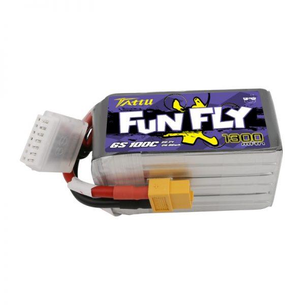 Tattu Funfly Series 1300mAh 22.2V 100C 6S1P Lipo|Tattu Funfly Series 1300mAh 22.2V 100C 6S1P Lipo