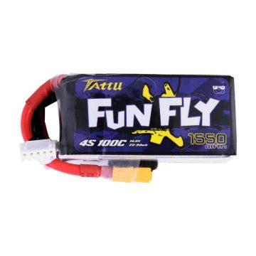 Tattu Funfly Series 1550mAh 14.8V 100C 4S1P Lipo