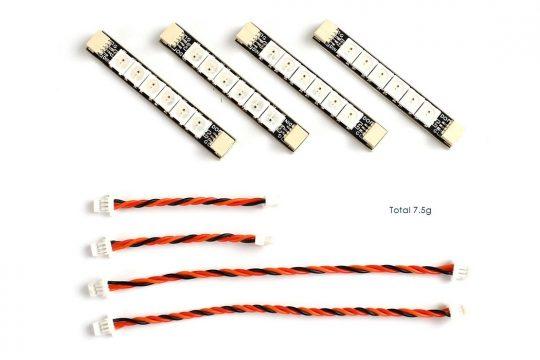 Matek - 4 db-os LED &vezeték szett (6 LED-es)