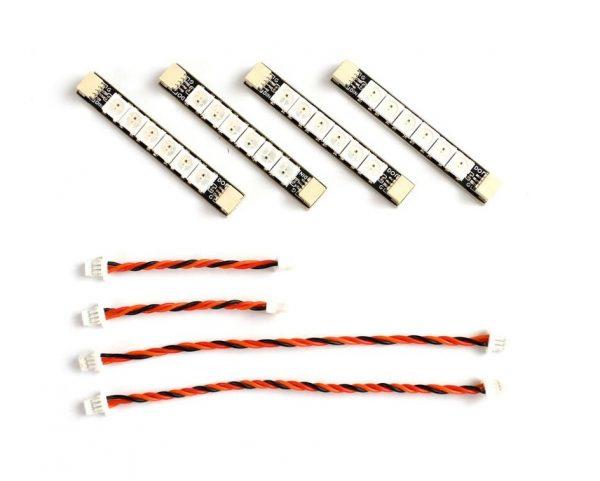 Matek - 4 db-os LED &vezeték szett