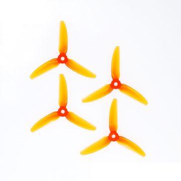HQ Prop 4X4.3X3V1S Narancs propeller