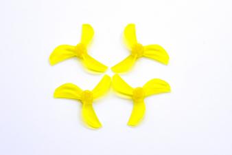 NewBeeDrone Azi Micro Propeller Sárga- 0.8mm Tengelyre