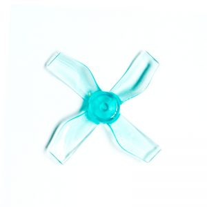 Gemfan 1220 31mm 4 lapátos Kék Propeller 0.8mm-es Tengelyre