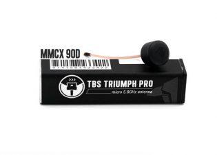 TBS Triumph Pro MMCX 90° RHCP Antenna