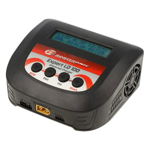 Robitronic Expert LD 100 2-4s 10A 100W Akkumulátor töltő