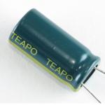 Teapo 1000 uF/25V LOW ESR kondenztor